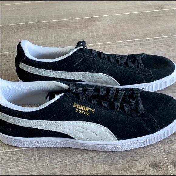 Puma Shoes | Suede Mens Black White